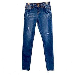 DEAR JOHN 27 Gisele High-Waisted Skinny Jeans